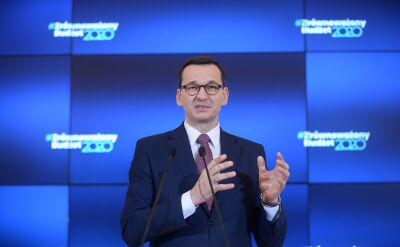 Morawiecki: opozycja bierze na siebie odpowiedzialność w kwestii Mariana Banasia