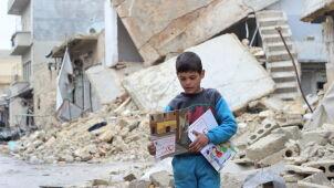 Względny spokój w okolicach Damaszku