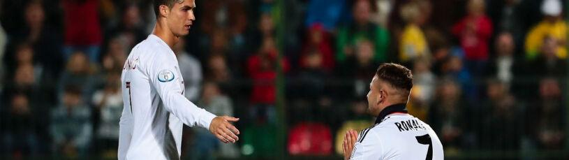 Ronaldo spełnił prośbę boiskowego intruza. Potem do akcji wkroczyła ochrona