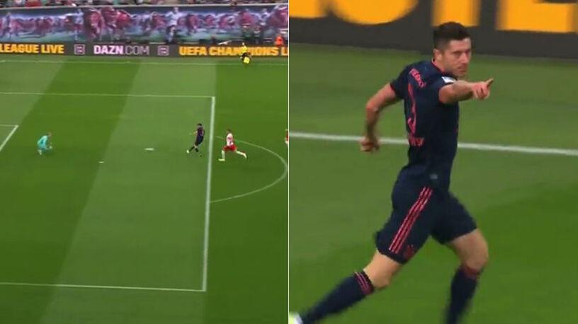 Lewandowski takich sytuacji nie marnuje