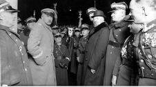 Uroczystości imieninowe Marszałka Polski Józefa Piłsudskiego w Warszawie