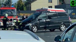 Kolizja z udziałem samochodu SOP. Funkcjonariusze mieli jechać na sygnale