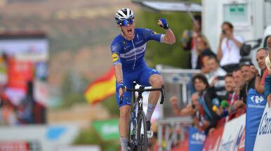 Fenomenalny Cavagna wygrał 19. etap Vuelty. Majka utrzymał pozycję