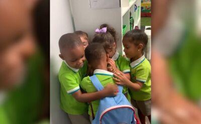 Pierwszy dzień w szkole po przejściu huraganu Dorian