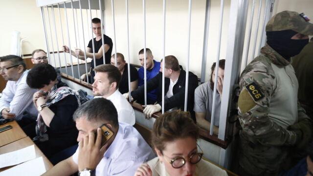 Posiedzenie za zamkniętymi drzwiami. Ukraińscy marynarze pozostaną w areszcie