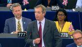 Przewodniczący Partii Brexit: dzięki Bogu opuszczamy to miejsce
