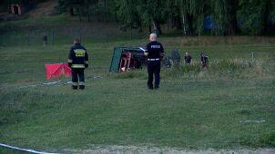 Wypadek ciągnika. Zginął kierowca, 8-latek w szpitalu