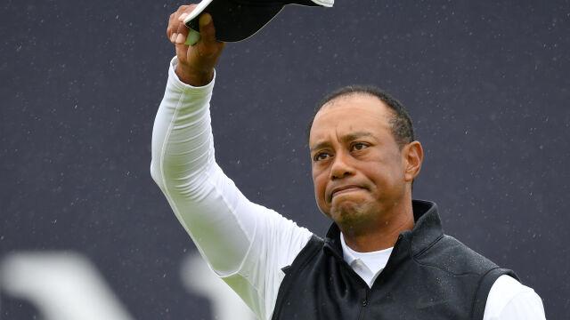 """Tiger Woods po dwóch dniach pożegnał się z British Open. """"Chcę wracać do domu"""""""