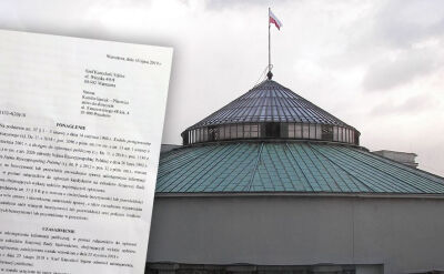 Do Kancelarii Sejmu wpłynęło uzasadnienie wyroku NSA