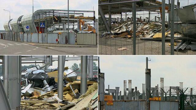 Musieli zmienić wykonawcę rozbiórki terminala lotniska w Radomiu