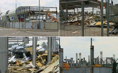 Rozbiórka terminala lotniska w Radomiu. Nowy port ma być gotowy pod koniec 2020 roku
