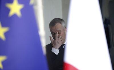 Francois de Rugy francuski minister podał się do dymisji
