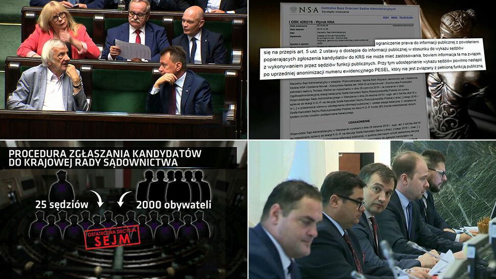 """""""Lista wstydu polskiego wymiaru sprawiedliwości"""". Mija wyznaczony termin ujawnienia nazwisk"""