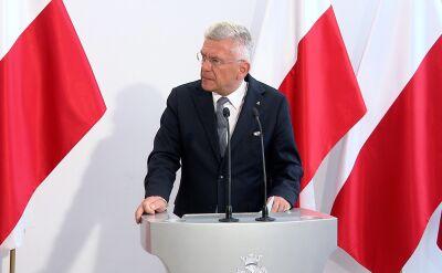 Marszałek Stanisław Karczewski o Pawle Kowalu