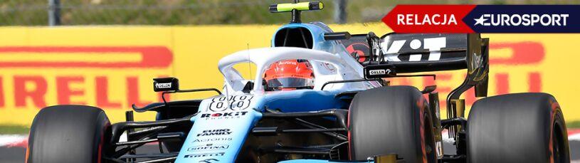 Hamilton po pięknej pogoni wygrał na Węgrzech. Kubica na końcu stawki [RELACJA]