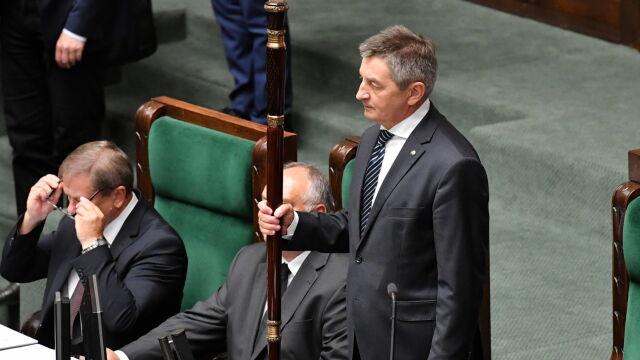 Sejm zajmie się w przyszłym tygodniu wnioskiem o odwołanie Kuchcińskiego