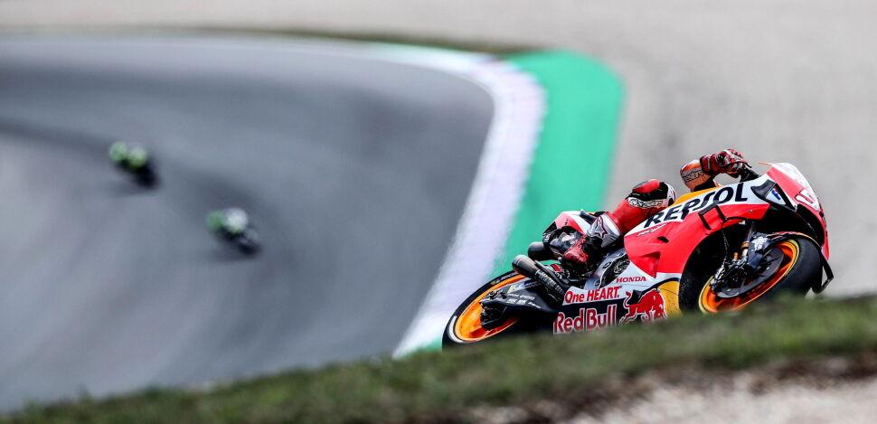 Marc Marquez zwyciężył w Motocyklowych Grand Prix Hiszpanii