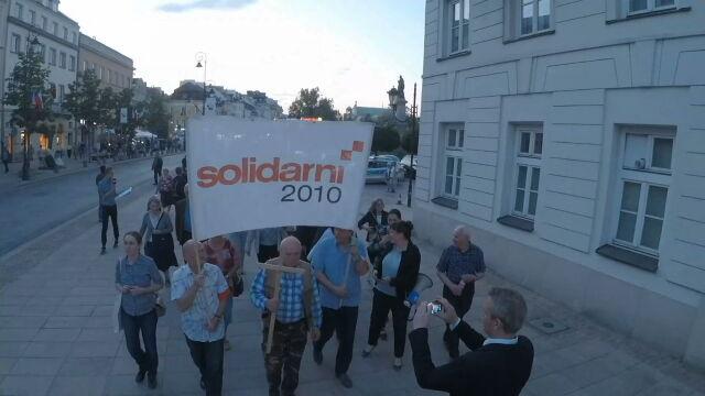 97. miesięcznica smoleńska bez polityków PiS