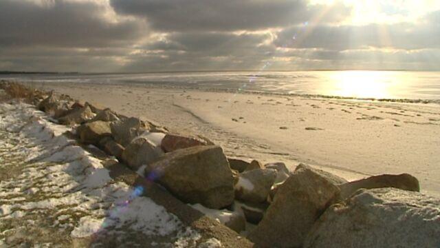 Przepiękna zima nad Bałtykiem