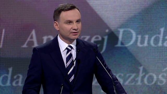 Andrzej Duda w kampanii: nie będę notariuszem rządu