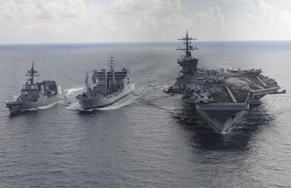 Wspólne manewry morskie USA, Japonii i Indii w 2015 roku