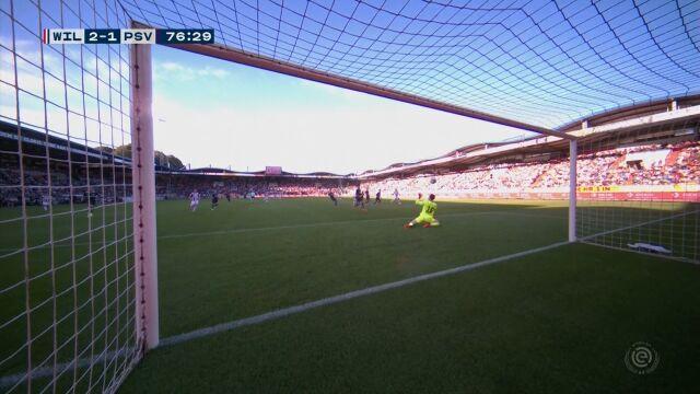 PSV przegrało z Willem II po błędzie bramkarza