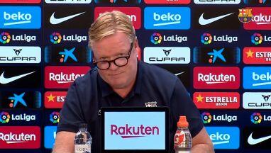 Trener Barcelony zaskoczył dziennikarzy. Przeczytał oświadczenie i wyszedł z sali