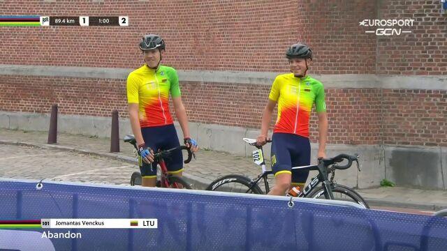 Litewscy kolarze spóźnili się na wyścig ze startu wspólnego juniorów