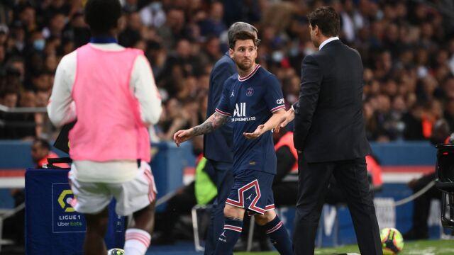 Trener komentuje reakcję Messiego. Doszło do wymiany słów