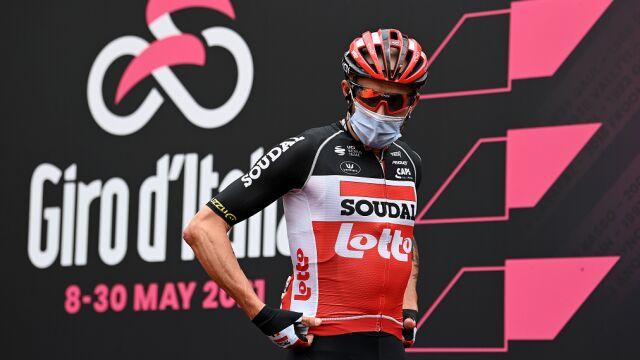 Marczyński wycofał się z Giro d'Italia. COVID zostawił ślad