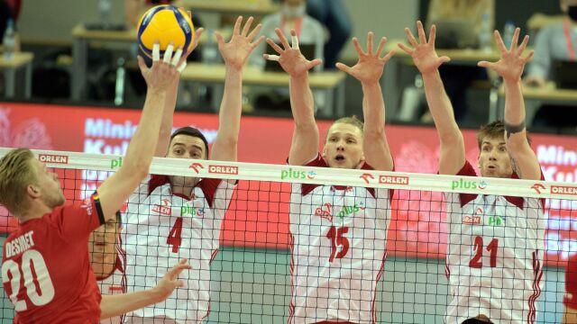 Polscy siatkarze wrócili do gry. Belgowie bez szans
