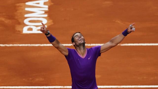 Starcie gigantów dla Nadala. Wygrał w Rzymie i wyrównał rekord Djokovicia