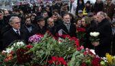 Manifestacja żałobna po śmierci Niemcowa