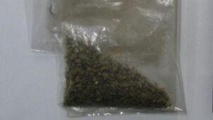 Palił marihuanę w komisariacie. Policjantom pochwalił się, że w domu ma więcej
