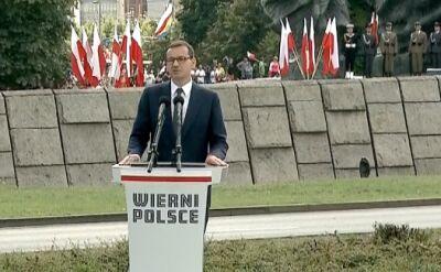 Morawiecki: Sto lat temu Polacy chwycili za broń i ukształtowali granice Rzeczypospolitej