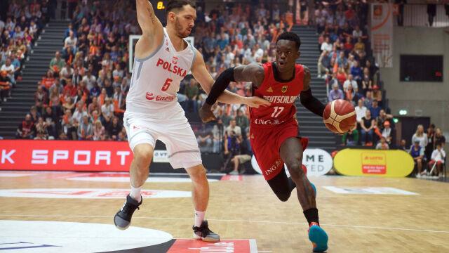 Gra lepsza niż wynik. Polscy koszykarze nie sprostali rywalowi z NBA
