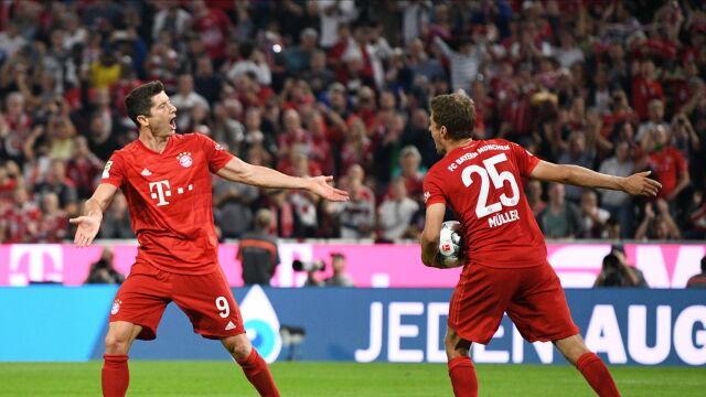 Dwa gole Lewandowskiego. Bayern i tak nie wygrał