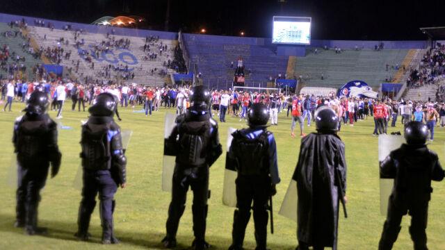 Zamieszki przed meczem. Zginęły trzy osoby