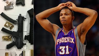 Karabin, pistolety, marihuana. Były koszykarz NBA trafił do więzienia