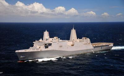 Amerykański okręt transportowy Green Bay