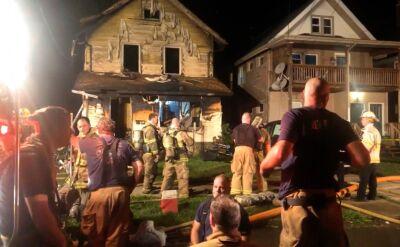 Pożar w centrum opieki w Pensylwanii