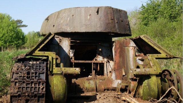 Czołg zostanie oczyszczony na terenie CSWL