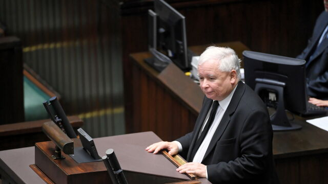 Kaczyński po oświadczeniach partii w Sejmie: Koniec opozycji totalnej. Proszę, by nie były to tylko słowa