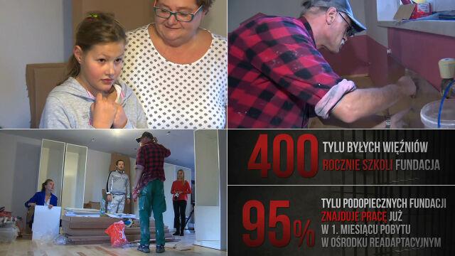 """""""Zrobiłem kiedyś dużo złego"""". Odsiedzieli wyrok, remontują pokój 10-latki z autyzmem"""