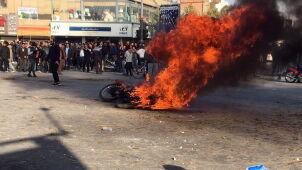 Protesty w Iranie z powodu podwyżek cen ropy