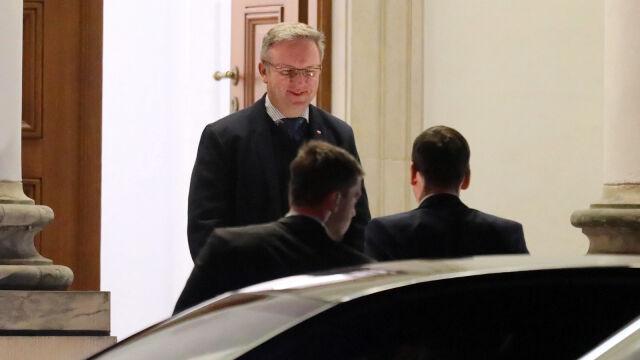 Spotkanie prezydenta, premiera  i prezesa PiS w Belwederze