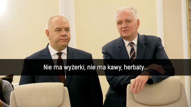 pierwsze posiedzenie rządu