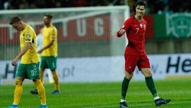 Ronaldo zdemolował Litwinów. Rekord coraz bliżej
