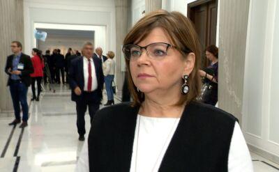 Izabela Leszczyna i Henryk Kowalczyk o projekcie ustawy znoszącej tzw. 30-krotność ZUS