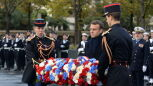 Macron przewodniczył obchodom 101. rocznicy zakończenia I wojny światowej